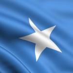 Die Flagge Somalias