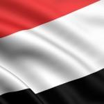 Die Flagge des Jemen