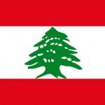 Die libanesische Flagge