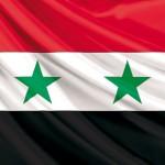 Die Flagge Syriens